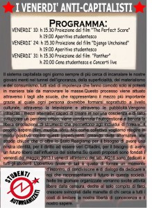 Venerdì Anticapitalisti Studenti Autorganizzati Reggio Emilia